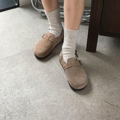 100jang-时尚独特女士平底鞋