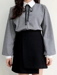 2018新款韩国服装100jang品牌时尚流行格纹衬衫(2018.1月)