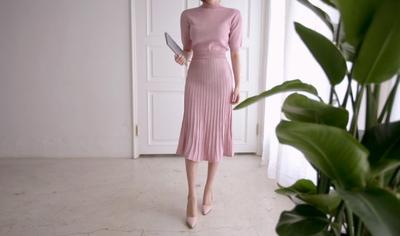 11am-韩版纯色魅力新款流行休闲套装