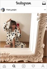 2018新款韩国服装11am品牌可爱时尚新款冬季睡衣(2018.1月)