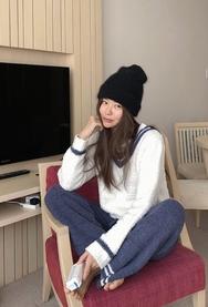 2018新款韩国服装11am品牌轻松保暖冬季睡衣(上衣+裤子)(2018.1月)