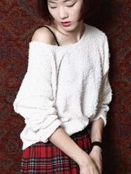 1区韩国代购正品验证42nd5-SRKN00756089-简单舒适休闲新款百搭针织衫