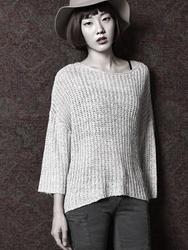 1区韩国代购正品验证42nd5-SRKN00756091-韩版流行新款百搭时尚针织衫