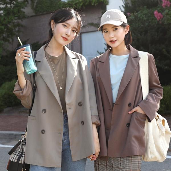 1区韩国本土服装代购(韩国圆通直发)66girls-夹克(2019-03-17上架)