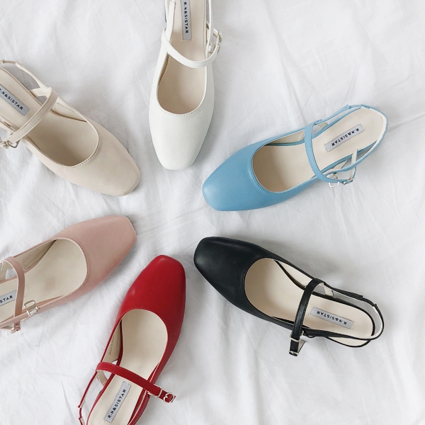 1区韩国本土服装代购(韩国圆通直发)66girls-平底鞋(2019-03-18上架)