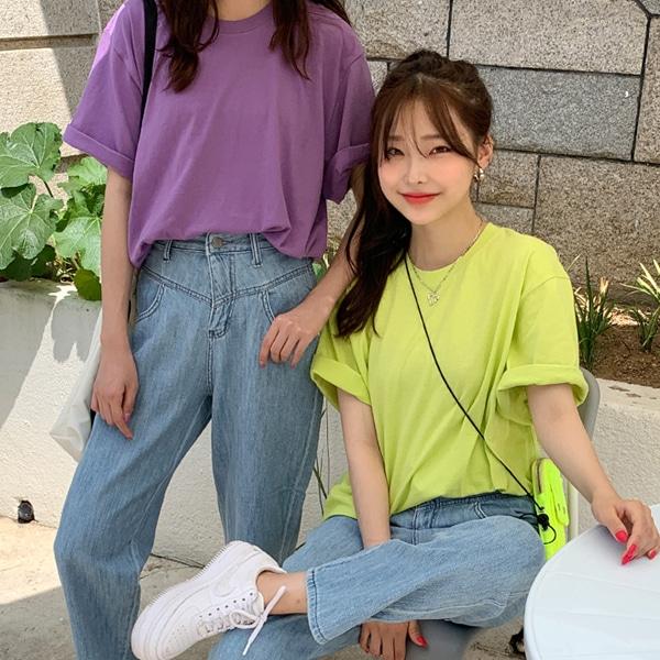 1区100%正宗韩国官网代购(韩国直发包国际运费)66girls-T恤(2019-06-25上架)
