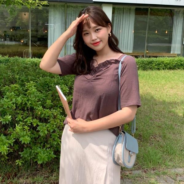 1区100%正宗韩国官网代购(韩国直发包国际运费)66girls-衬衫(2019-07-10上架)