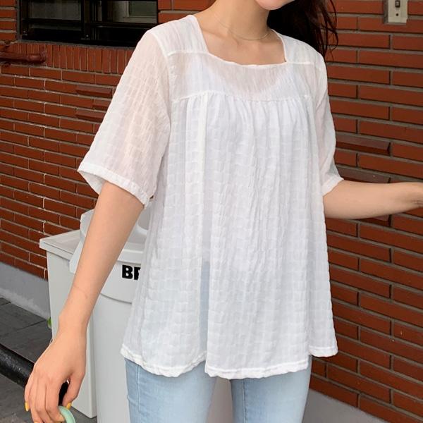 1区100%正宗韩国官网代购(韩国直发包国际运费)66girls-衬衫(2019-07-11上架)