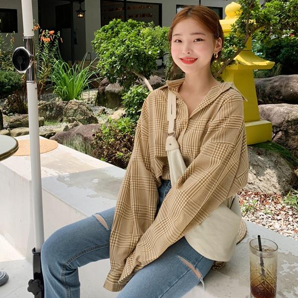 1区100%正宗韩国官网代购(韩国直发包国际运费)66girls-衬衫(2019-08-01上架)