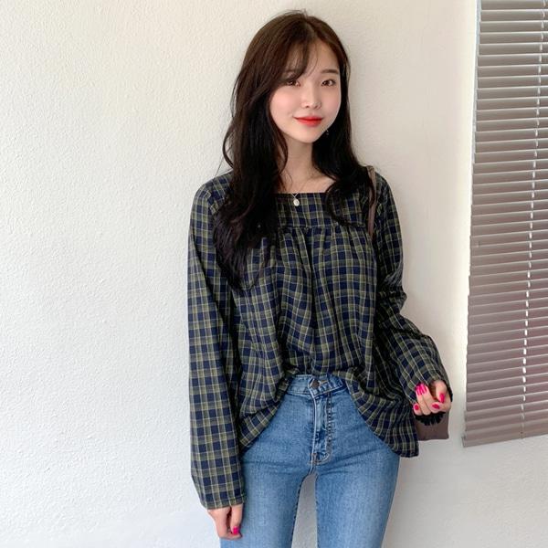 1區100%正宗韓國官網代購(韓國直發包國際運費)66girls-襯衫(2019-08-14上架)
