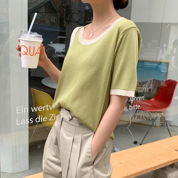 1区100%正宗韩国官网代购(韩国直发包国际运费)66girls-针织衫(2020-07-04上架)
