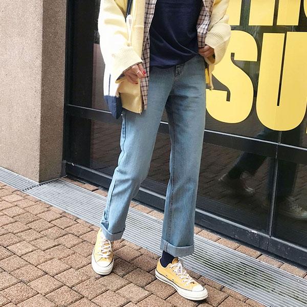 1区韩国本土服装代购(韩国圆通直发)906studio-牛仔裤(2018-09-24上架)