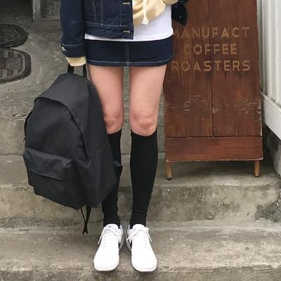 1区韩国本土服装代购(韩国圆通直发)906studio-休闲百搭纯色双肩包(2018-04-14上架)