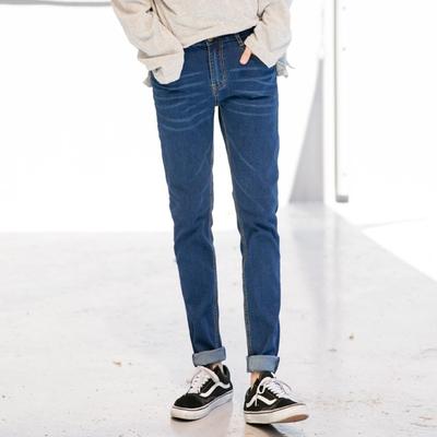 aboki-时尚流行百搭牛仔裤