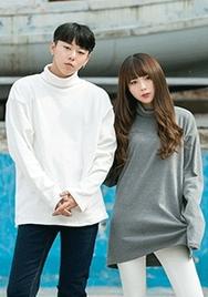 1区2017秋季新款|韩国发货|aboki品牌韩国韩版魅力纯色百搭T恤(2017.11月)