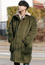 1区2017冬季新款韩国服装aboki品牌韩版个性高档魅力大衣(2017.12月)