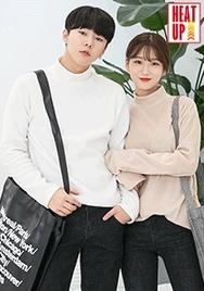 1区2017冬季新款韩国服装aboki品牌男士纯色高领帅气上衣(2017.12月)