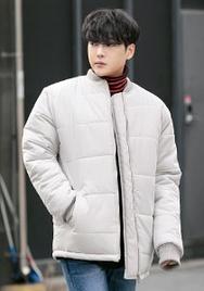 1区2017冬季新款韩国服装aboki品牌男士舒适高档个性棉服(2017.12月)