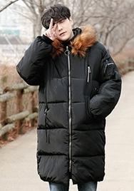1区2017冬季新款韩国服装aboki品牌韩版魅力舒适时尚棉服(2017.12月)
