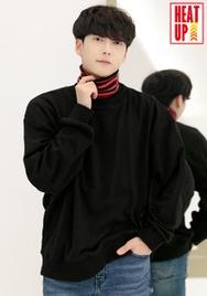 1区2017冬季新款韩国服装aboki品牌韩版舒适高档纯色卫衣(2017.12月)