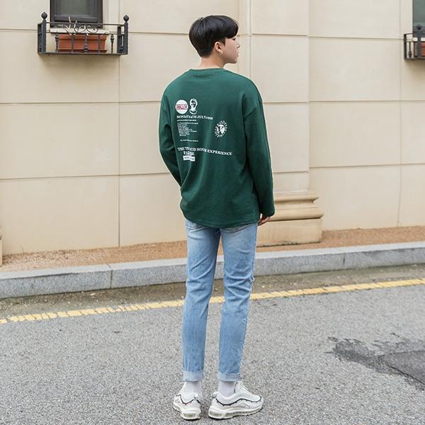 1区韩国本土服装代购(韩国圆通直发)aboki-T恤(2018-09-07上架)