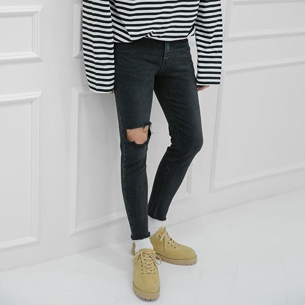 1区韩国本土服装代购(韩国圆通直发)aboki-牛仔裤(2018-09-18上架)