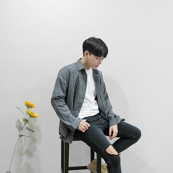 1区韩国本土服装代购(韩国圆通直发)aboki-衬衫(2018-09-18上架)