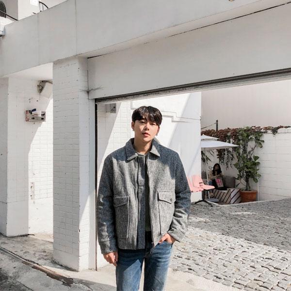 1区韩国本土服装代购(韩国圆通直发)aboki-夹克(2018-11-06上架)