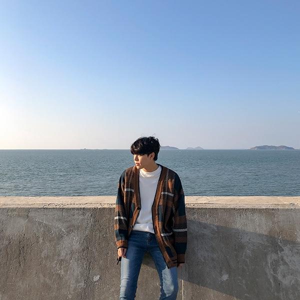 1区韩国本土服装代购(韩国圆通直发)aboki-开襟衫(2018-11-28上架)