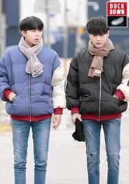 2018新款韩国服装aboki品牌男士帅气高档魅力棉服(2018.1月)