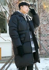 2018新款韩国服装aboki品牌男士魅力休闲温暖棉服(2018.1月)