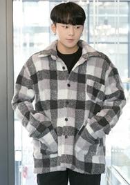 2018新款韩国服装aboki品牌男士高档舒适加厚衬衫(2018.1月)