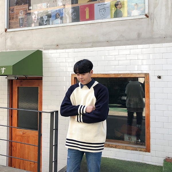 1区韩国本土服装代购(韩国圆通直发)aboki-针织衫(2019-02-01上架)