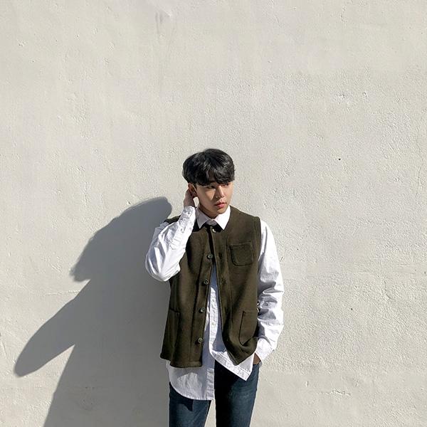 1区韩国本土服装代购(韩国圆通直发)aboki-马甲(2019-02-02上架)