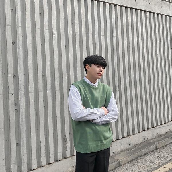 1区韩国本土服装代购(韩国圆通直发)aboki-马甲(2019-02-14上架)
