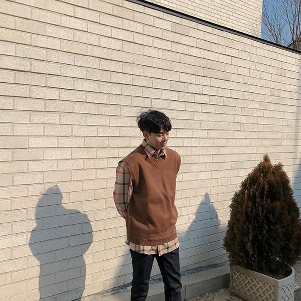 1区韩国本土服装代购(韩国圆通直发)aboki-马甲(2019-04-06上架)(请联系客服核对是否有货再下单哦)