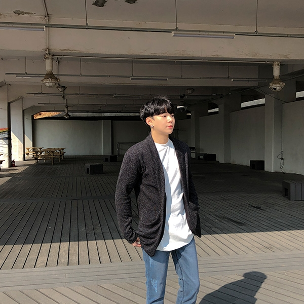 1区韩国本土服装代购(韩国圆通直发)aboki-开襟衫(2019-03-03上架)