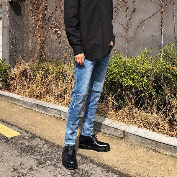 1区韩国本土服装代购(韩国圆通直发)aboki-牛仔裤(2019-04-17上架)