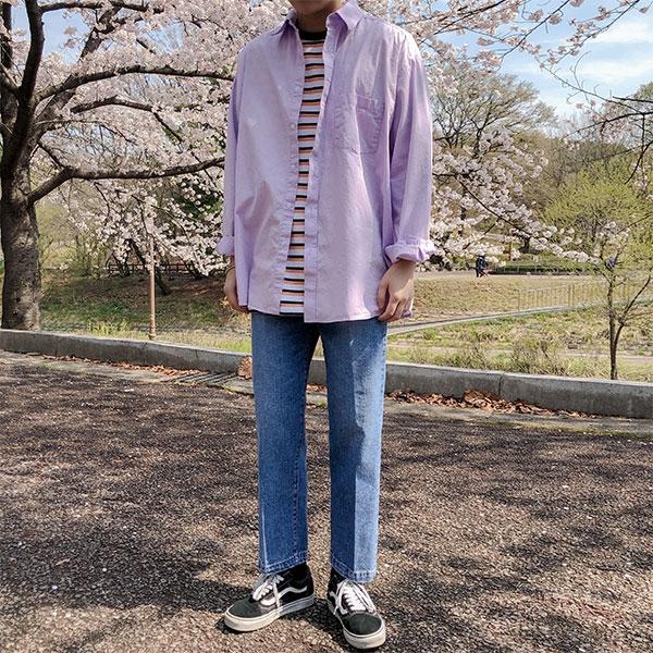 1区韩国本土服装代购(韩国圆通直发)aboki-衬衫(2019-04-19上架)