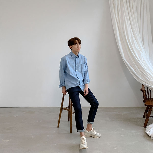 1区韩国本土服装代购(韩国圆通直发)aboki-衬衫(2019-05-19上架)