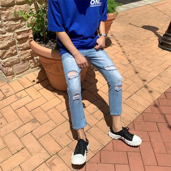 1区100%正宗韩国官网代购(韩国直发包国际运费)aboki-牛仔裤(2019-06-20上架)
