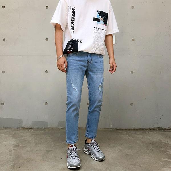 1区100%正宗韩国官网代购(韩国直发包国际运费)aboki-牛仔裤(2019-07-03上架)