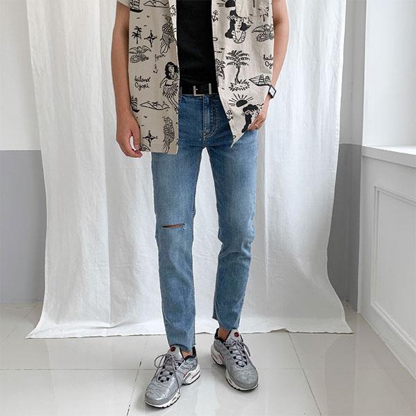 1区100%正宗韩国官网代购(韩国直发包国际运费)aboki-牛仔裤(2019-07-22上架)