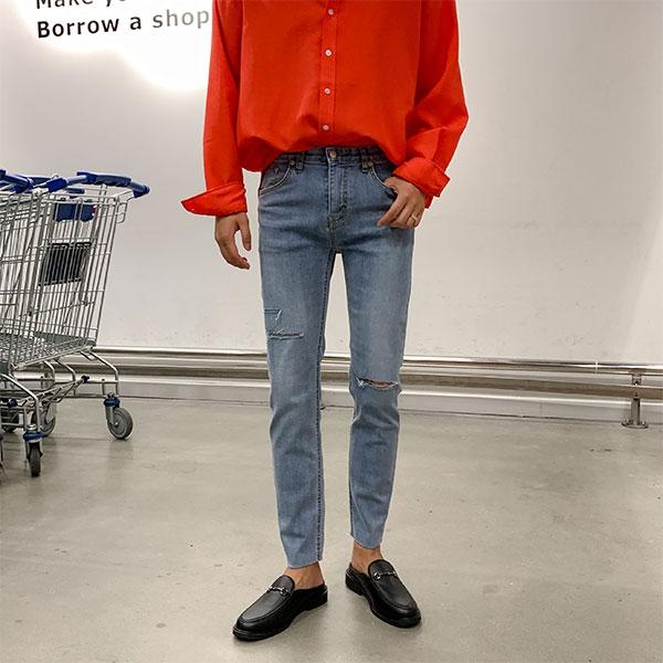 1区100%正宗韩国官网代购(韩国直发包国际运费)aboki-牛仔裤(2019-08-14上架)
