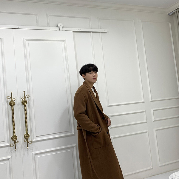 1区100%正宗韩国官网代购(韩国直发包国际运费)aboki-大衣(2019-11-19上架)