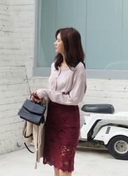 1区2017秋季新款|韩国发货|againby品牌韩国韩版魅力纯色中裙(2017.9月)