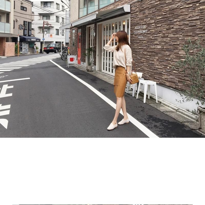 1区韩国本土服装代购(韩国圆通直发)againby-中裙(2018-09-19上架)