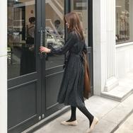 2018新款韩国服装againby品牌时尚风格修身连衣裙(2018.1月)