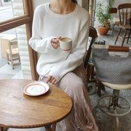 2018新款韩国服装againby品牌魅力修身宽松针织衫(2018.1月)