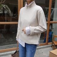 2018新款韩国服装againby品牌时尚美丽修身针织衫(2018.1月)